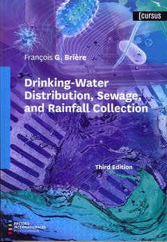 Couverture de l'ouvrage Drinking-Water Distribution, Sewage, and Rainfall Collection