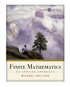 Couverture de l'ouvrage Finite Mathematics