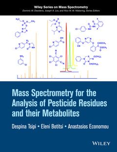 Cover of the book Mass Spectrometry for Analysis of Pesticide Residues and their Metabolites