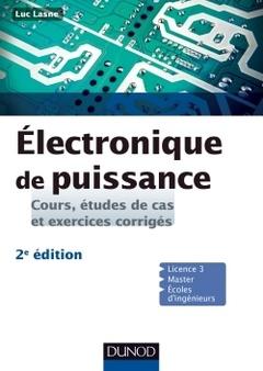 Couverture de l'ouvrage Électronique de puissance