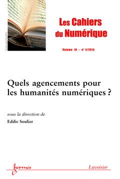 Couverture de l'ouvrage Les Cahiers du Numérique Volume 10 N° 4/Octobre-Décembre 2014