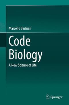 Couverture de l'ouvrage Code Biology
