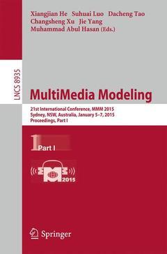 Couverture de l'ouvrage MultiMedia Modeling