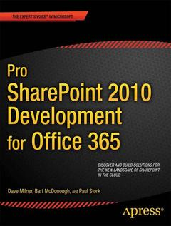 Cover of the book Pro SharePoint 2010 Development for Office 365