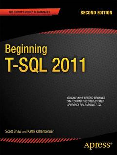 Cover of the book Beginning T-SQL 2012