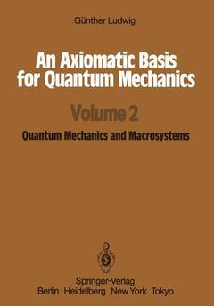 Couverture de l'ouvrage An Axiomatic Basis for Quantum Mechanics