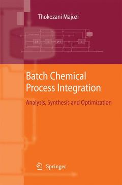 Cover of the book Batch Chemical Process Integration