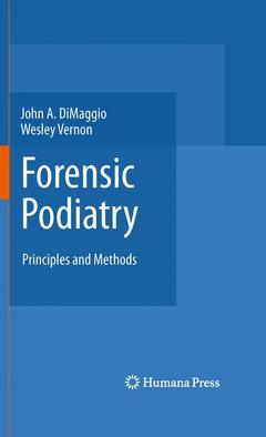 Couverture de l'ouvrage Forensic Podiatry