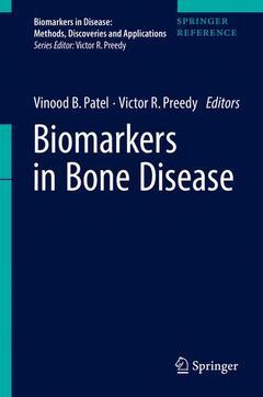 Couverture de l'ouvrage Biomarkers in Bone Disease