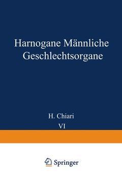 Couverture de l'ouvrage Harnorgane Männliche Geschlechtsorgane