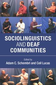 Couverture de l'ouvrage Sociolinguistics and Deaf Communities