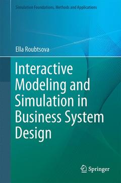 Cover of the book Foundations of Interactive Modelling and Simulation