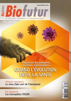 Couverture de l'ouvrage Biofutur N° 361 (Janvier 2015)