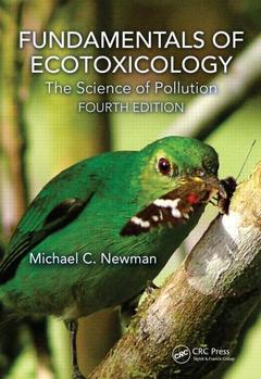 Couverture de l'ouvrage Fundamentals of Ecotoxicology