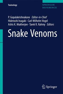 Cover of the book Snake Venoms