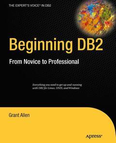 Couverture de l'ouvrage Beginning DB2