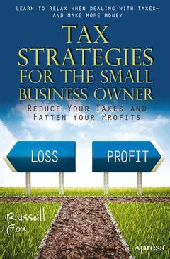 Couverture de l'ouvrage Tax Strategies for the Small Business Owner