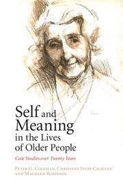 Cover of the book Self and Meaning in the Lives of Older People