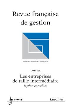 Couverture de l'ouvrage Revue française de gestion Volume 40 N° 244/Octobre 2014