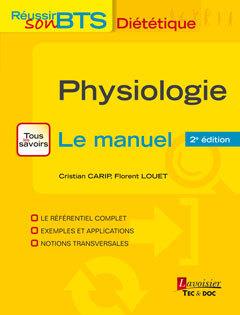 Couverture de l'ouvrage Physiologie - Le manuel