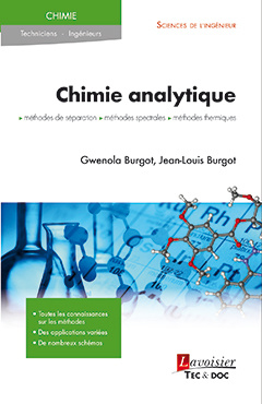 Cover of the book Chimie analytique