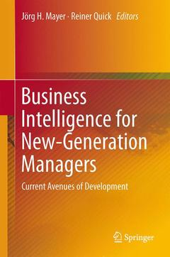 Cover of the book Business Intelligence for New-Generation Managers