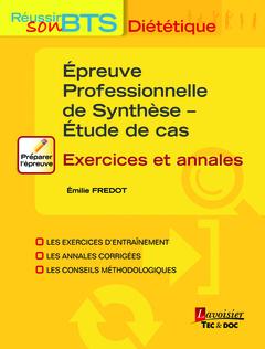 Couverture de l'ouvrage Épreuve Professionnelle de Synthèse - Étude de cas