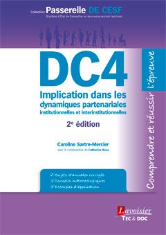 Couverture de l'ouvrage DC4 Implication dans les dynamiques partenariales institutionnelles et interinstitutionnelles (2° éd.)