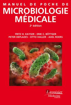 Couverture de l'ouvrage Manuel de poche de microbiologie médicale