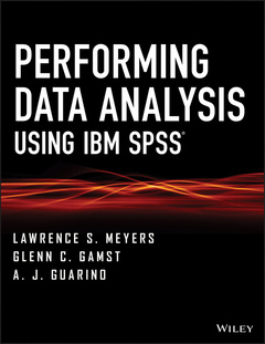 Cover of the book Performing Data Analysis Using IBM SPSS