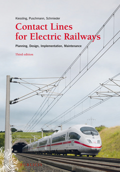 Cover of the book Contact Lines for Electrical Railways
