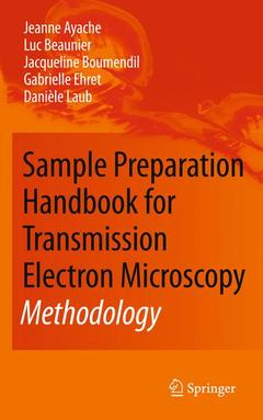 Cover of the book Sample Preparation Handbook for Transmission Electron Microscopy