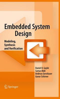 Couverture de l'ouvrage Embedded System Design