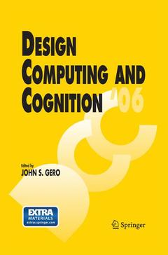 Couverture de l'ouvrage Design computing and cognition '06