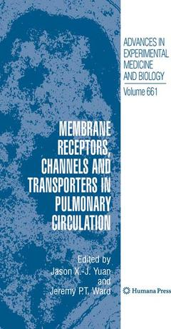 Cover of the book Membrane Receptors, Channels and Transporters in Pulmonary Circulation