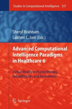 Cover of the book Advanced Computational Intelligence Paradigms in Healthcare 6