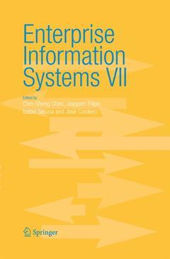 Couverture de l'ouvrage Enterprise information systems VII