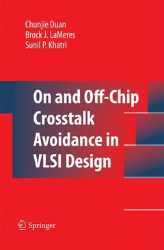 Couverture de l'ouvrage On and off-chip crosstalk avoidance in vlsi design