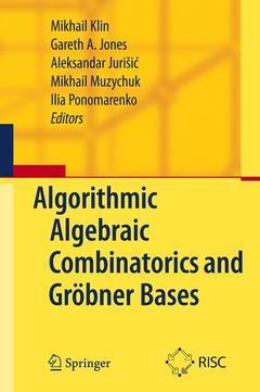 Cover of the book Algorithmic algebraic combinatorics and gröbner bases (hardback)
