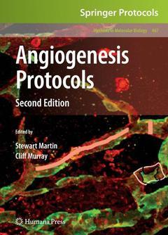 Couverture de l'ouvrage Angiogenesis protocols (2nd Ed)