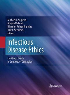 Couverture de l'ouvrage Infectious disease ethics