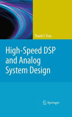 Couverture de l'ouvrage High-speed DSP and analog system design