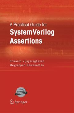 Cover of the book A practical guide for system Verilog ass ertions
