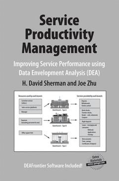 Couverture de l'ouvrage Service productivity management