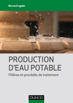 Couverture de l'ouvrage Production d'eau potable