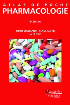 Couverture de l'ouvrage Atlas de poche Pharmacologie
