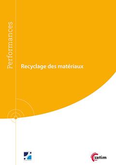 Couverture de l'ouvrage Recyclage des matériaux (9Q246)
