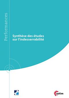 Couverture de l'ouvrage Synthèse des études sur l' indesserrabilité (9Q250)