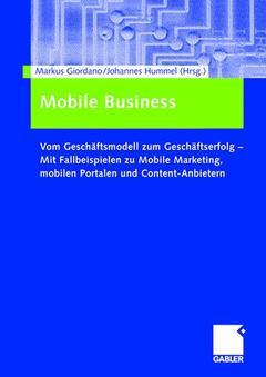 Couverture de l'ouvrage Mobile Business