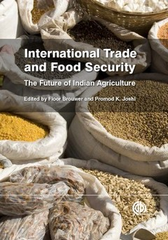 Couverture de l'ouvrage International trade and food security